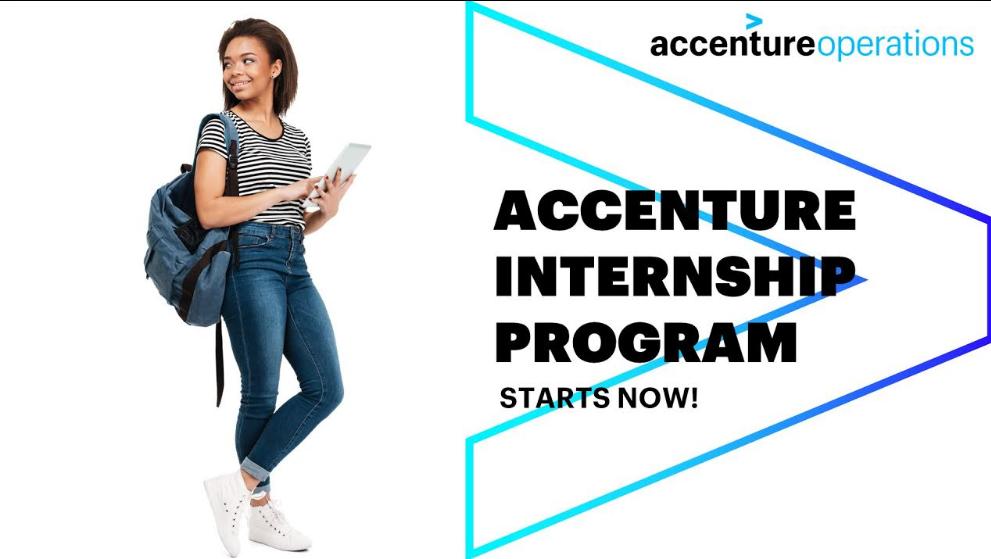 Internship Program At Accenture Pracuj W Sprzedaży